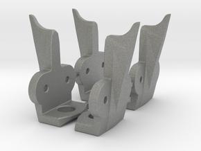 Shredder Teeth  Four Pack (eg Omnitech) in Gray PA12