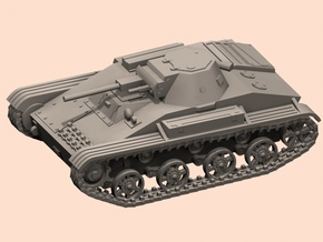 1/87 T-60 tank in Smooth Fine Detail Plastic