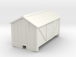 009 2 axle salt wagon in White Natural Versatile Plastic