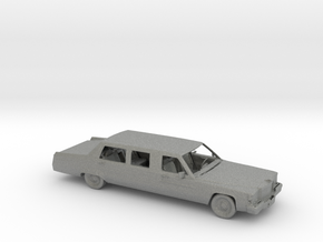 O Scale Limo in Gray PA12