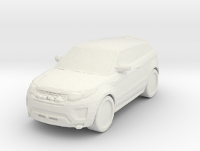 Range Rover Evoque 1/120 in White Natural Versatile Plastic