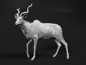 Greater Kudu 1:64 Walking Male in Smooth Fine Detail Plastic