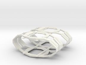 Romulan Shipyard Type B in White Natural Versatile Plastic