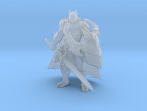 Medieval Batman miniature model fantasy game DnD in Smooth Fine Detail Plastic