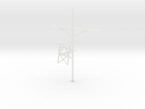 1/96 scale Tico Mast #1 Minus Radio Room in Smooth Fine Detail Plastic