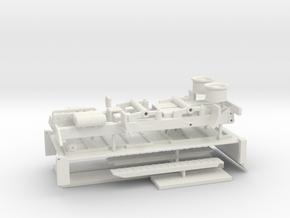 18t Tandemkipper / Tandem tipper - Komplettset in White Natural Versatile Plastic