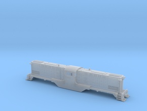 Baldwin DT6-6-2000 HO Type 2 in Smooth Fine Detail Plastic