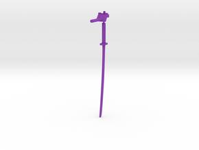 Bludgeon Weapons in Purple Processed Versatile Plastic: Large