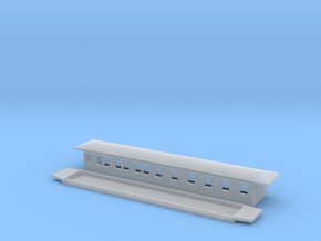 BCo3 - Swedish passenger wagon in Smooth Fine Detail Plastic