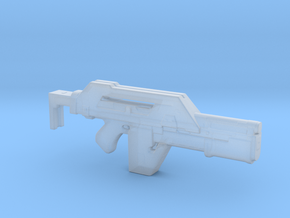 M41A Aliens Pulse Rifle 1/32 scale in Smooth Fine Detail Plastic