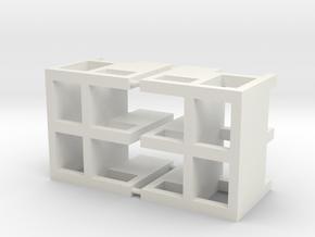 "(2) PLANTER UNIT PLACEMENT JIG - 22"" in White Natural Versatile Plastic"