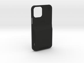 iPhone 12 - LooplyCase™ with RileyLink Inlay in Black Natural Versatile Plastic