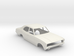 1:24 Ford Cortina 1975 in White Natural Versatile Plastic