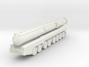 RT-2PM2 Topol-M ICBM 1/285 in White Natural Versatile Plastic