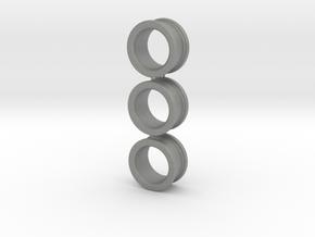 03x Size 2 Finger-Rings (medium) in Gray PA12