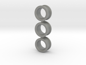 03x Size 1 Finger-Rings (small) in Gray PA12