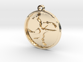 Pattern in 14K Yellow Gold