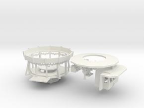 kleine Kindereisenbahn Antrieb - 1:160 in White Natural Versatile Plastic