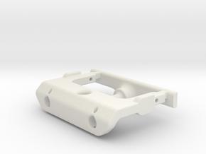 Axial SCX24 C10 Hidden body pin/ Bumper lift kit in White Natural Versatile Plastic