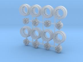 Super River 8-6 Split Hot Wheels Rims in Smooth Fine Detail Plastic