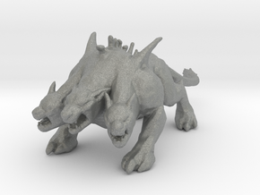 GOW Cerberus miniature model monster fantasy dnd in Gray PA12
