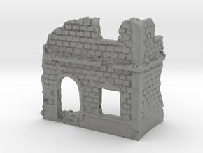 1/144 European Inn Ruin in Gray PA12
