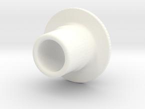 BA Boston Adapter Rev A in White Processed Versatile Plastic