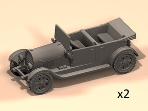 1/100 WW1 cars in Smoothest Fine Detail Plastic