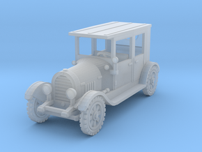 1/100 WW1 car roof in Smoothest Fine Detail Plastic