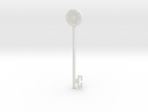 Echo Key in White Natural Versatile Plastic