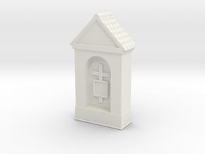 Small Chapel 1/100 in White Natural Versatile Plastic