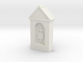 Small Chapel 1/76 in White Natural Versatile Plastic