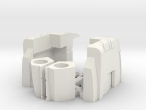 Replacement Feet for Earthrise Ironhide & Ratchet in White Natural Versatile Plastic