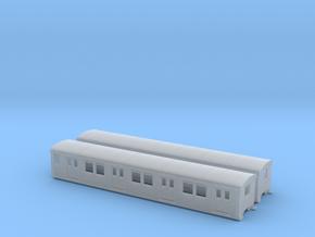 DR EB 165 beiwagen  TT [2x body] in Smooth Fine Detail Plastic