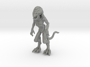 Pumpkinhead miniature model fantasy games DnD rpg in Gray PA12
