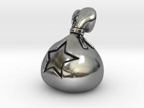 Bells Bag in Antique Silver