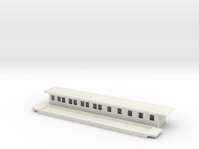 BCo6 - Swedish passenger wagon in White Natural Versatile Plastic
