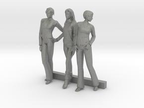 O Scale Women 3 in Gray PA12