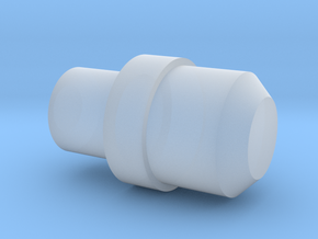 Z1 Single Button for cage in Smooth Fine Detail Plastic