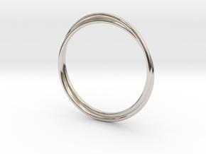 Infinity Bracelet in Platinum