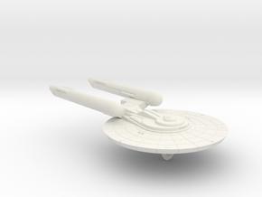 3125 Scale Federation Medium Cruiser (CM) WEM in White Natural Versatile Plastic