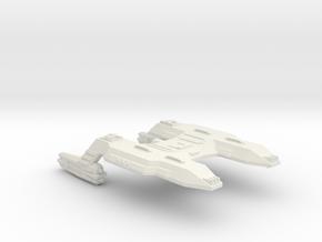 3788 Scale Lyran X-Ship Command Cruiser (CCX) CVN in White Natural Versatile Plastic