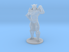Shao Kahn 41mm DnD miniature model fantasy games in Smooth Fine Detail Plastic