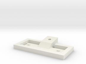 M.2 Adapter Clip in White Natural Versatile Plastic