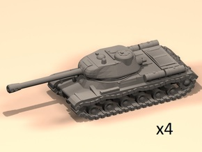 6mm IS-2 tanks in Smoothest Fine Detail Plastic