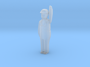 Capsule HH Worker Arm Up 4 L in Smooth Fine Detail Plastic