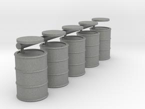 28mm fuel barrels in Gray PA12