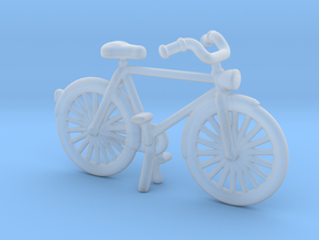 1/64 1/87 scale Bicycle  in Smooth Fine Detail Plastic: 1:64 - S