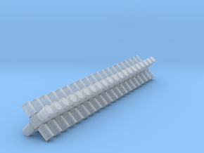 6mm scale fuel barrels in Smoothest Fine Detail Plastic