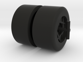 Star Searcher Wheels in Black Natural Versatile Plastic